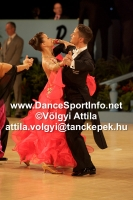 Mauro Favaro & Angelina Shabulina at UK Open 2009