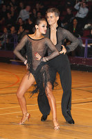 Dominik Rudnicki & Adrianna Lojszczyk at The International Championships