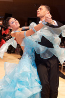 Luca Rossignoli & Veronika Haller at UK Open 2009