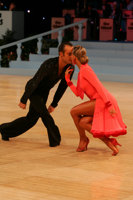 Franco Formica & Oxana Lebedew at UK Open 2008