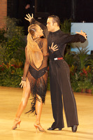 Franco Formica & Oxana Lebedew at UK Open 2009