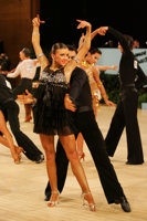 Denys Drozdyuk & Antonina Skobina at UK Open 2008