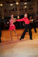 Denys Drozdyuk &amp; Antonina Skobina at Blackpool Dance Festival 2008