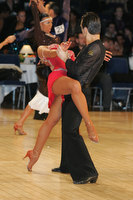 Denys Drozdyuk & Antonina Skobina at UK Open 2010