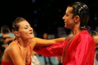 Joshua Keefe & Sara Magnanelli at UK Open 2008