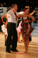 Jonas Kazlauskas & Jasmine Chan at UK Open 2010