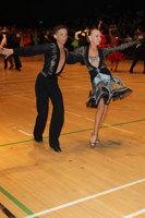 Luke Miller & Hanna Cresswell-Melstrom at The International Championships