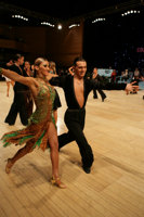 Evgeni Smagin & Polina Kazatchenko at UK Open 2008