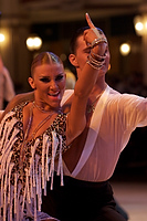 Evgeni Smagin & Polina Kazatchenko at Blackpool Dance Festival 2008
