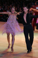 Evgeni Smagin & Polina Kazatchenko at Blackpool Dance Festival 2009