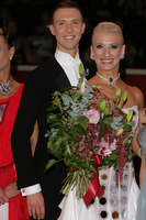 Arunas Bizokas & Katusha Demidova at The International Championships