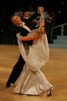 Sergei Konovaltsev & Olga Konovaltseva at UK Open 2008