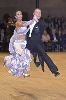 Sergei Konovaltsev &amp; Olga Konovaltseva at UK Open 2008