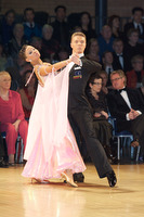 Sergei Konovaltsev & Olga Konovaltseva at UK Open 2009