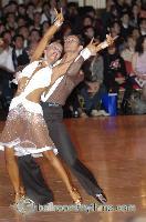 Andrew Cuerden & Hanna Haarala at Blackpool Dance Festival 2006