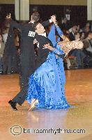 Anton Lebedev & Anna Borshch at Blackpool Dance Festival 2006