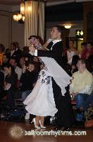 Marco Lustri &amp; Alessia Radicchio at Blackpool Dance Festival 2006