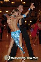 Dmytro Vlokh & Olga Urumova at Blackpool Dance Festival 2006
