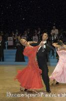 Andrea Ghigiarelli & Sara Andracchio at UK Open 2007