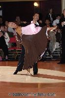 Daniele Gallaro & Kimberly Taylor at Blackpool Dance Festival 2006