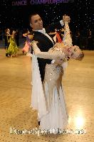 Daniele Gallaro & Kimberly Taylor at UK Open 2007