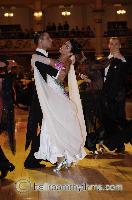Andrea Zaramella & Letizia Ingrosso at Blackpool Dance Festival 2006