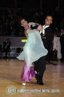 Andrea Zaramella & Letizia Ingrosso at The International Championships