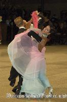 Andrea Zaramella & Letizia Ingrosso at UK Open 2007