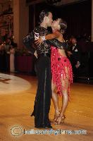 Alex Wei Wang & Roxie Jin Chen at Blackpool Dance Festival 2006