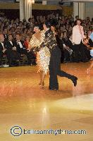 Sergey Sourkov & Agnieszka Melnicka at Blackpool Dance Festival 2006