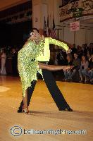 Sergey Sourkov &amp; Agnieszka Melnicka at Blackpool Dance Festival 2006