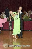 Qing Shui & Yan Yan Ma at Blackpool Dance Festival 2006