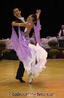 Chong He & Jing Shan at The International Championships