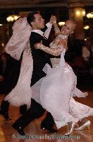 Oscar Pedrinelli & Kamila Brozovska at Blackpool Dance Festival 2006