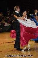 Jonas Kazlauskas & Alexandra Hawley at The International Championships
