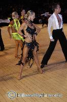 James Jordan & Aleksandra Jordan at The International Championships