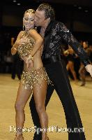 James Jordan & Aleksandra Jordan at UK Open 2007