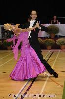Mark Elsbury & Olga Elsbury at The International Championships