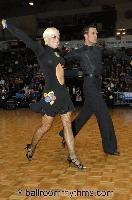 David Byrnes & Karla Gerbes at FATD National Capital Dancesport Championships 2006