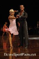 David Byrnes & Karla Gerbes at Australian Dancesport Championship 2006