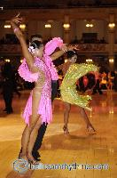 Alex Hou &amp; Melody Hou at Blackpool Dance Festival 2006