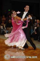 Michael Glikman & Milana Deitch at Megastars Championships