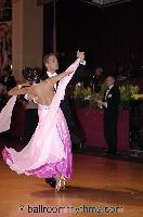 Mauro Favaro &amp; Angelina Shabulina at Blackpool Dance Festival 2006