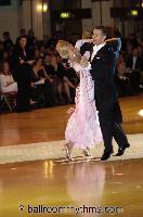 Alexandre Chalkevitch & Larissa Kerbel at Blackpool Dance Festival 2006
