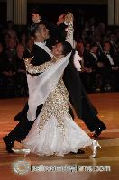 Grant Barratt-thompson & Mary Paterson at Blackpool Dance Festival 2006