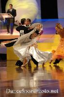 Grant Barratt-thompson & Mary Paterson at Australian Dancesport Championship 2006