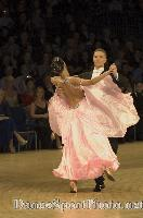 Sergei Konovaltsev & Olga Konovaltseva at UK Open 2007