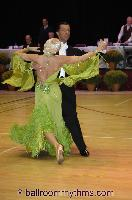 Slawomir Lukawczyk & Edna Klein at The International Championships