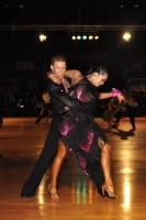 Neil Jones & Ekaterina Sokolova at Dutch Open 2008