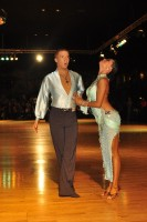 Neil Jones & Ekaterina Jones at Dutch Open 2008